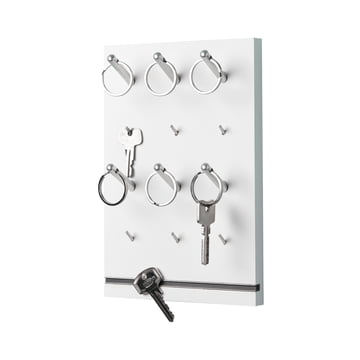 emform - Pin Schlüsselbrett, weiß