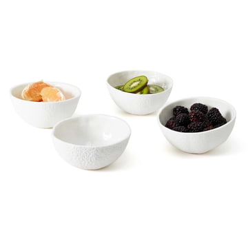 Die Areaware - Stone Fruit Obstschalen (4er-Set)
