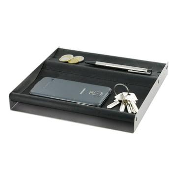 Die mono - depot Accessoires-Ablage - 23 x 23 cm - schwarz