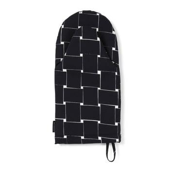 Basket Ofenhandschuh von Marimekko in Schwarz / Weiß