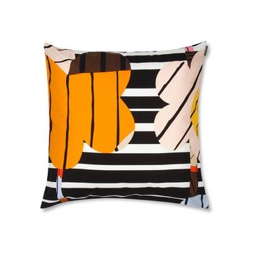 Sommar Kissenbezug 50 x 50 cm von Marimekko in Orange / Weiß / Schwarz