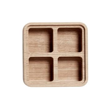 4 Fächer Create Me Box 12 x 12 cm von Andersen Furniture aus Eichenholz