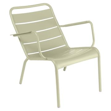 Luxembourg Tiefer Sessel von Fermob in Lindgrün