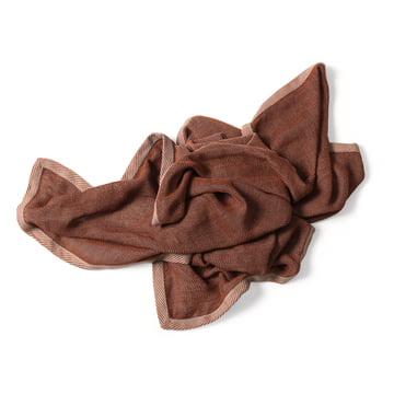 Ripple Decke von Muuto in Braun
