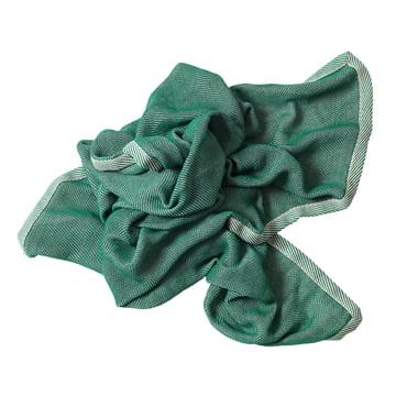 Ripple Decke von Muuto in Grün