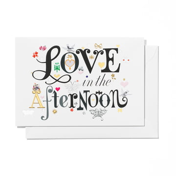 Greeting Card Love in the afternoon von Vitra