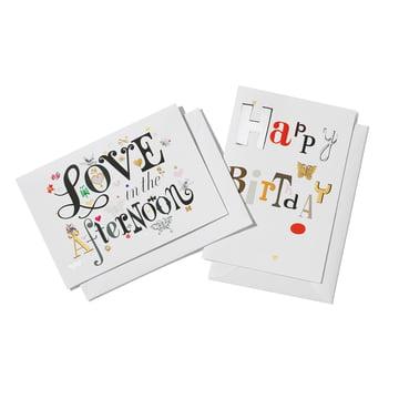 Love in the afternoon und Happy Birthday von Vitra
