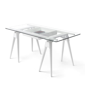 Design House Stockholm - Arco Schreibtisch - weiß