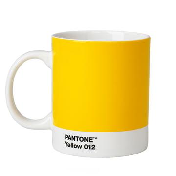 Becher von Pantone Universe in Gelb (012)