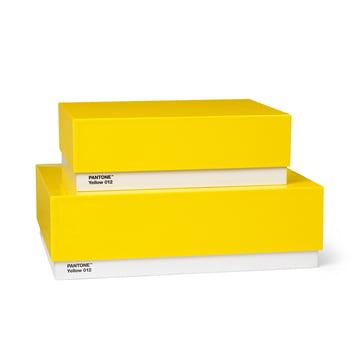 Storage Box 2er-Set von Pantone Universe in Gelb (12)