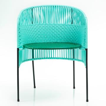 ames - caribe Dining Chair, mint / grün / schwarz