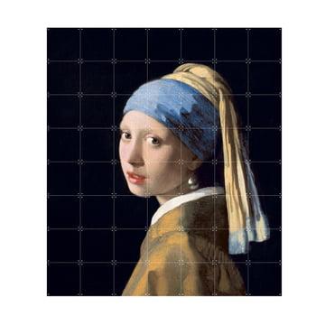 Mädchen mit dem Perlenohrring (Vermeer) von IXXI in 140 x 160 cm