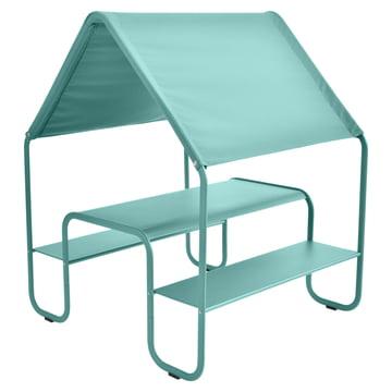 Picnic Kinderhütte / Spielhaus von Fermob in Lagunenblau