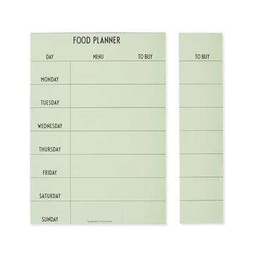 Weekly Food Planner von Design Letters
