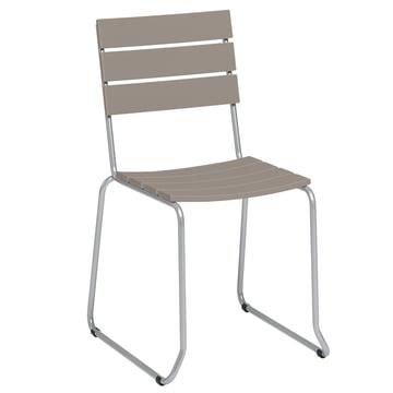 Balcony Stuhl von Weishäupl in Taupe