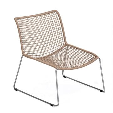 Slope Lounge Sessel von Weishäupl in Sand