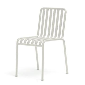 Der Hay Palissade Stuhl in Cremeweiß