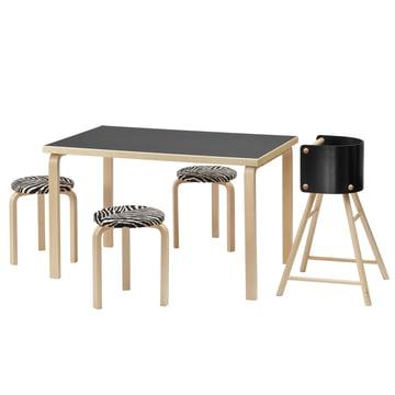 Rechteckiger Tisch 81A von Artek