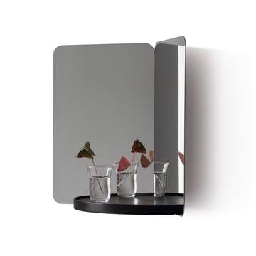 124° Spiegel mit Ablage von Artek