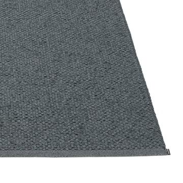 Pappelina - Svea Teppich, granit / black metallic