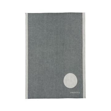 Jonte Geschirrtuch 46 x 66 cm von Pappelina in Charcoal