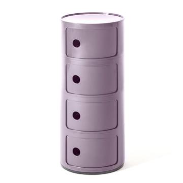 Componibili 4985 von Kartell in lila