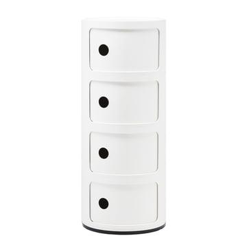Componibili 4985 von Kartell in weiß