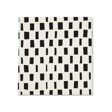 Iso Noppa Geschirrtuch 50 x 53 cm von Marimekko in Schwarz / Weiß