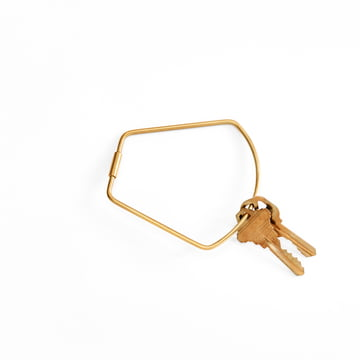 Contour Key Ring von Areaware