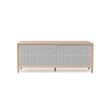 Hartô - Gabin Sideboard 122 cm, lichtgrau (RAL 7035)