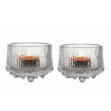 Thule Votive Teelichthalter im 2er-Set von Iittala in transparent