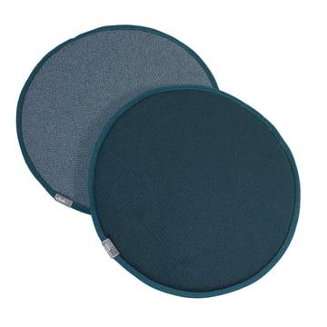 Vitra - Seat Dots, nero / eisblau