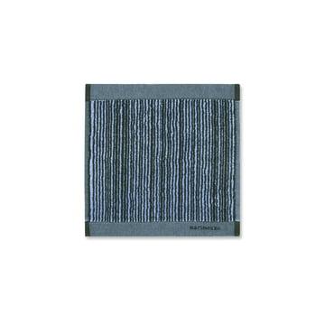 Varvunraita Gesichtstuch 30 x 30 cm von Marimekko in Blau / Schwarz
