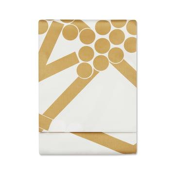 Hortensie Tischdecke 160 x 280 cm von Marimekko in Gold