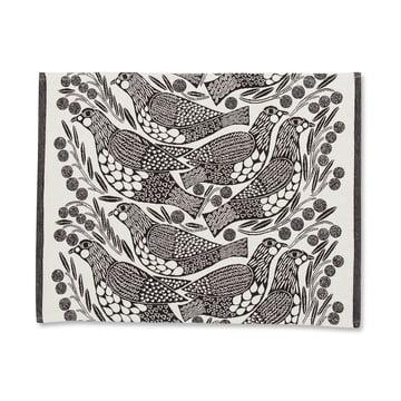 Das Marimekko - Kiiruna Tischset in schwarz / weiß