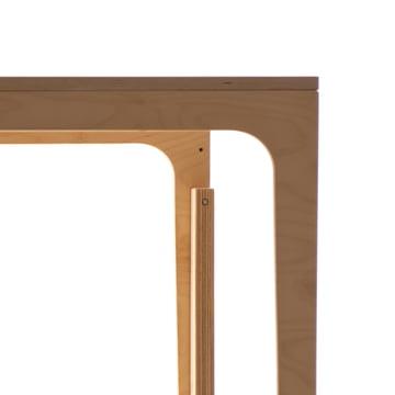 Kindertisch aus Birkensperrholz für Kinder