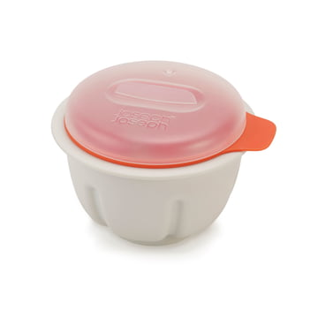 M-Cuisine Mikrowellen-Eierpochierer von Joseph Joseph in Orange
