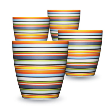 Iittala - Origo Becher 0.25 (4er-Set)l, orange