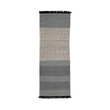 Der nanimarquina - Tres Stripes 80 x 240 cm in blau