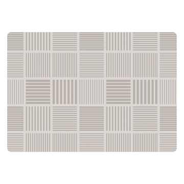 Das Juna - Nanna Ditzel Crisscross Tischset 30 x 45 cm in dove