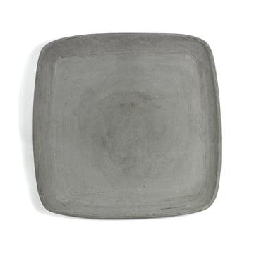 Delta Untersetzer quadratisch 45 x 45 cm von Eternit in Grau