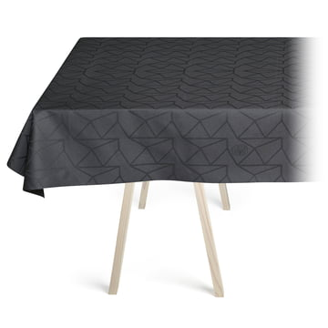 Arne Jacobsen Tischdecke von Georg Jensen Damask in Asphalt Coating