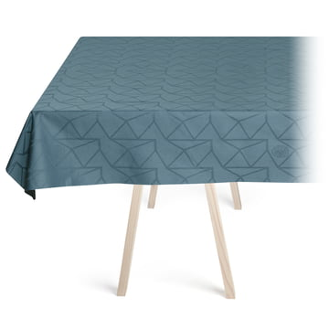 Arne Jacobsen Tischdecke von Georg Jensen Damask in Dusty Blue