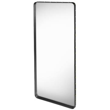 Adnet Spiegel 180 x 70 cm von Gubi in Schwarz
