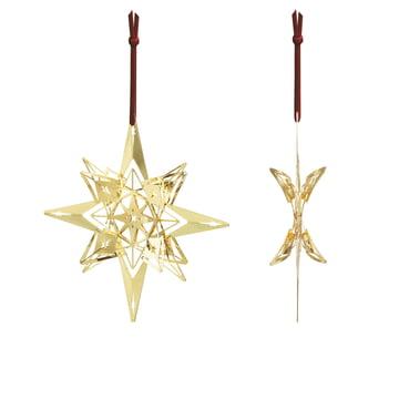 Weihnachtsschmuck Stern H 13 cm von Rosendahl in Gold