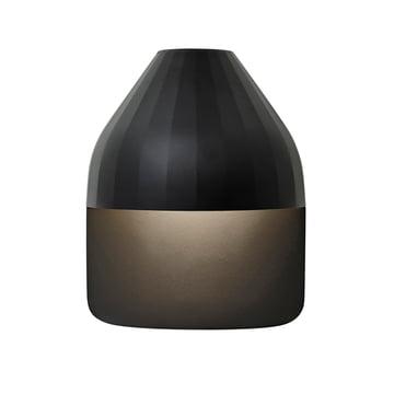 Facet Wandleuchte LED mit Wandplatte medium von Le Klint in Schwarz