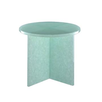 Font Round Tisch small H 46 x Ø 44 cm von Pulpo in Jade