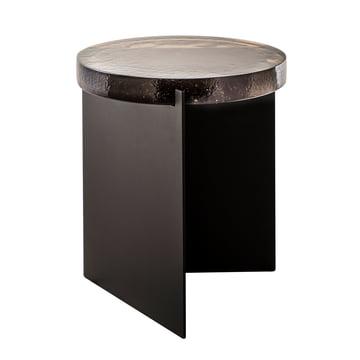 Der Pulpo - Alwa One Tisch, H 44 x Ø 38 cm in smoky grey / schwarz