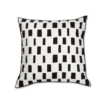 Der Marimekko - Iso Noppa Kissenbezug 50 x 50 cm in schwarz / weiß