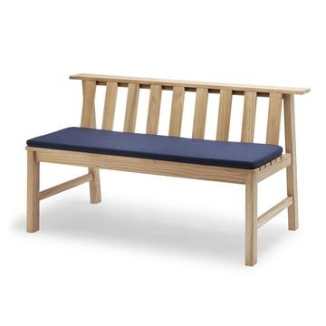 Die Skagerak - Plank Bank 144 cm, Teak mit Auflage in marine